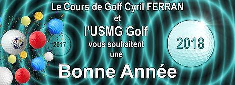 Voeux Stage et cours de golf Cyril Ferran