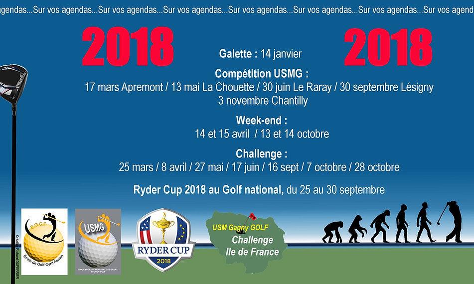 Programme Stage et cours de golf Cyril Ferran