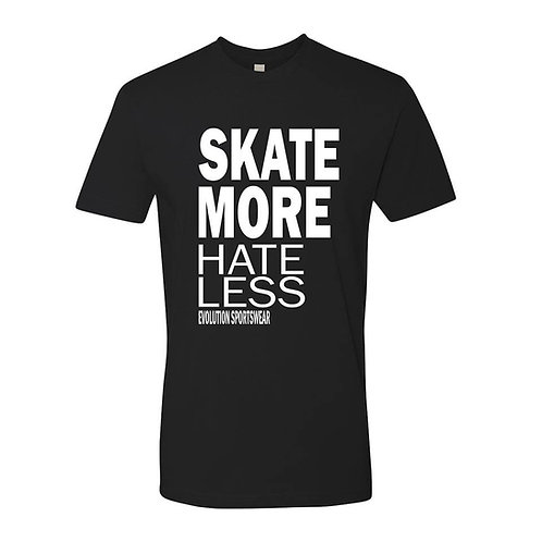 Skate More Hate Less Tee