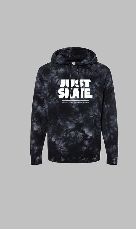 Just Skate Tie Dye Hoodie