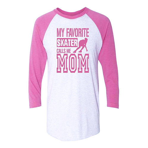 My Favorite Skater Calls Me Mom Mother's Day Tee