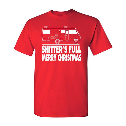 SHITTER'S FULL HOLIDAY T-SHIRT