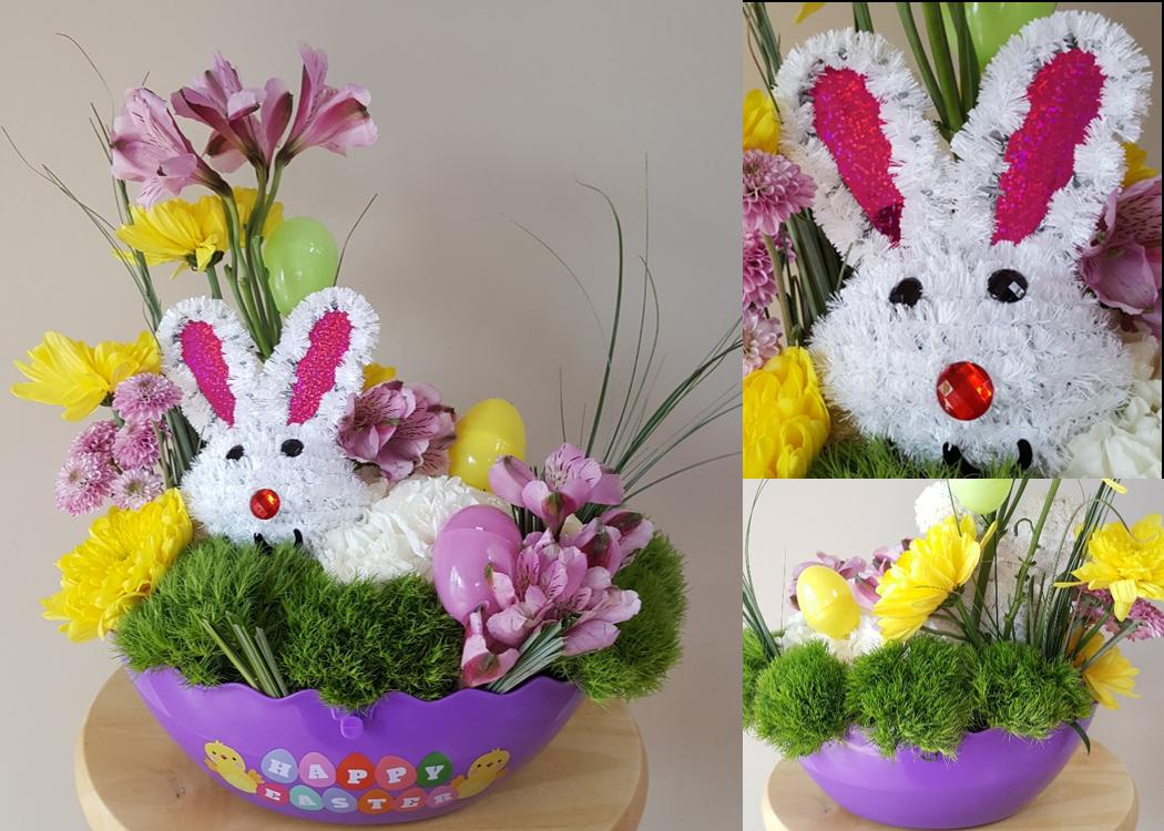 Bunny Hiding in Grass  - 4/18/2019
