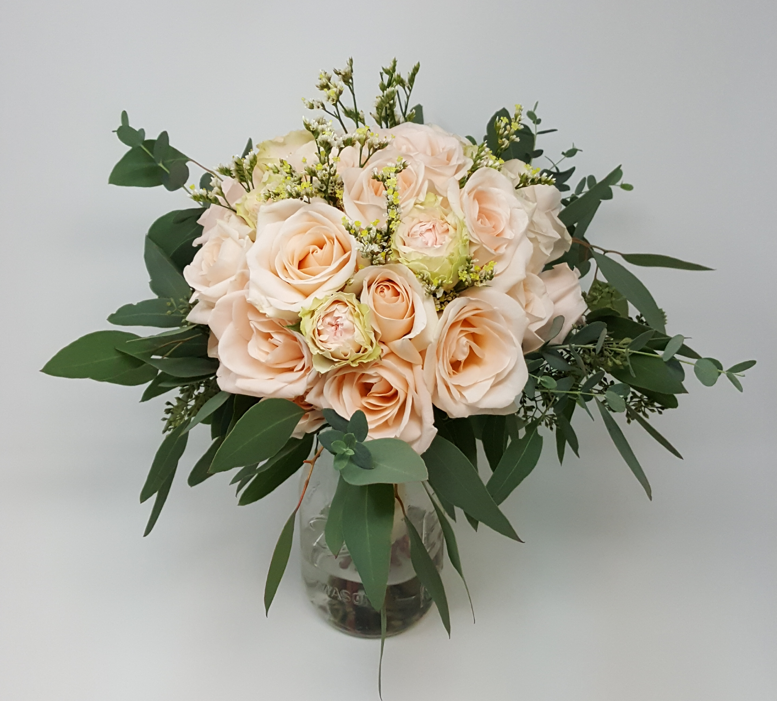 Round Bridal Bouquet