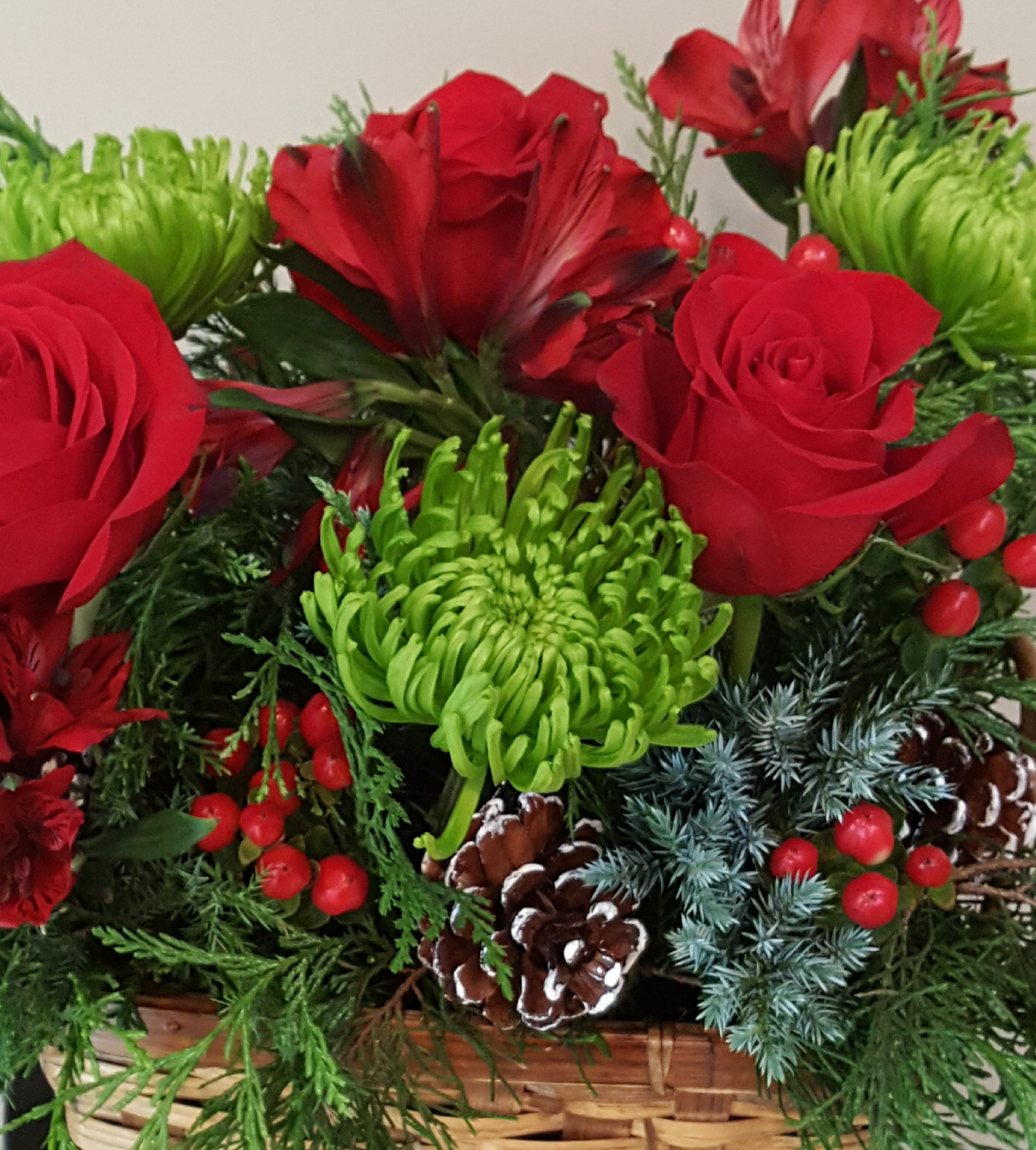 Winter Floral Arrangement - 12/3/18