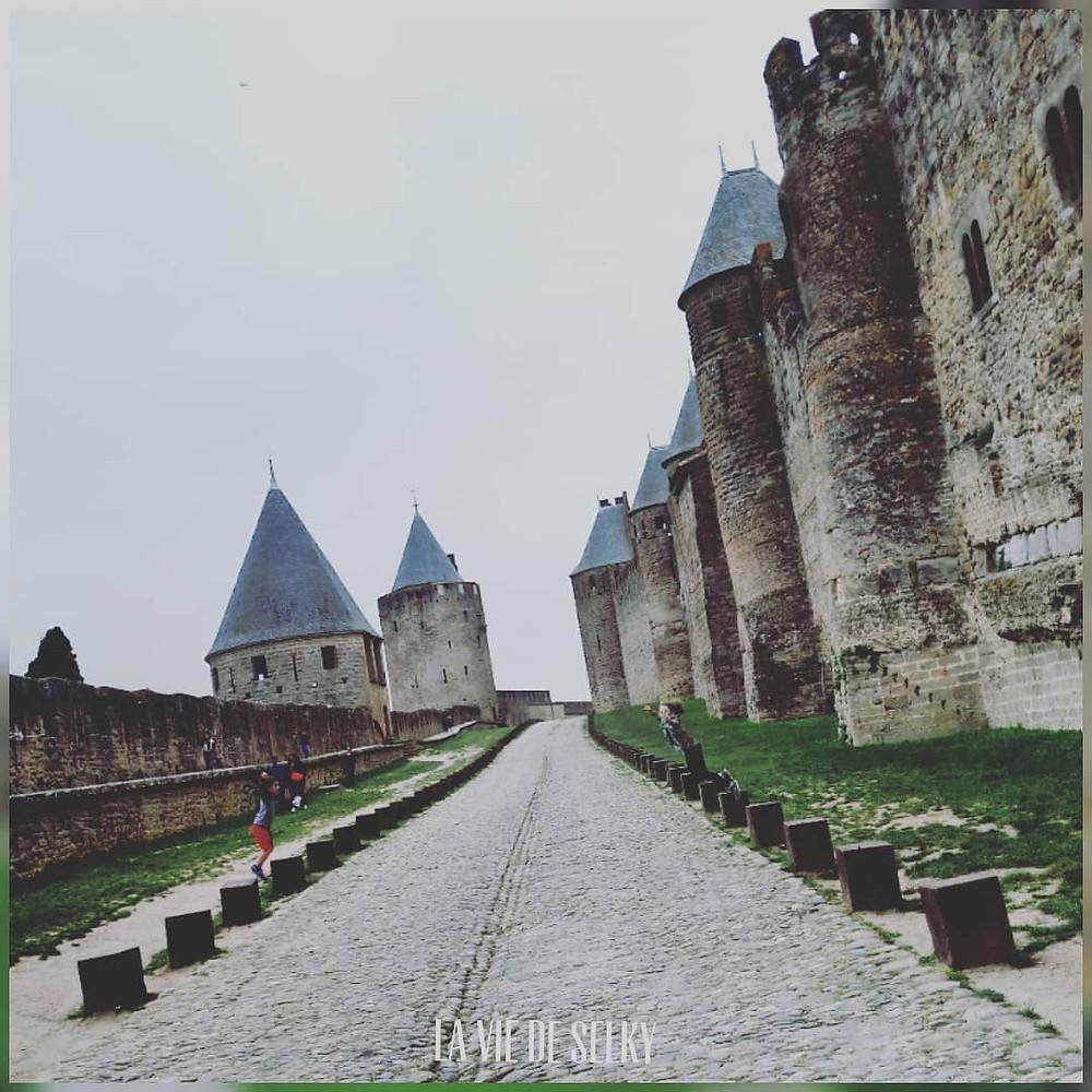 Chasse au trésor à Carcassonne - Crédit photo la vie de Selky