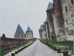 Selky a rendu visite à Mamie Louche à Carcassonne