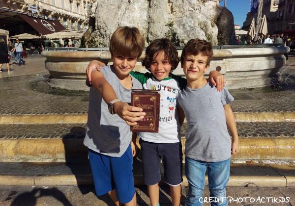 Actikids a testé une chasse au trésor à Montpellier