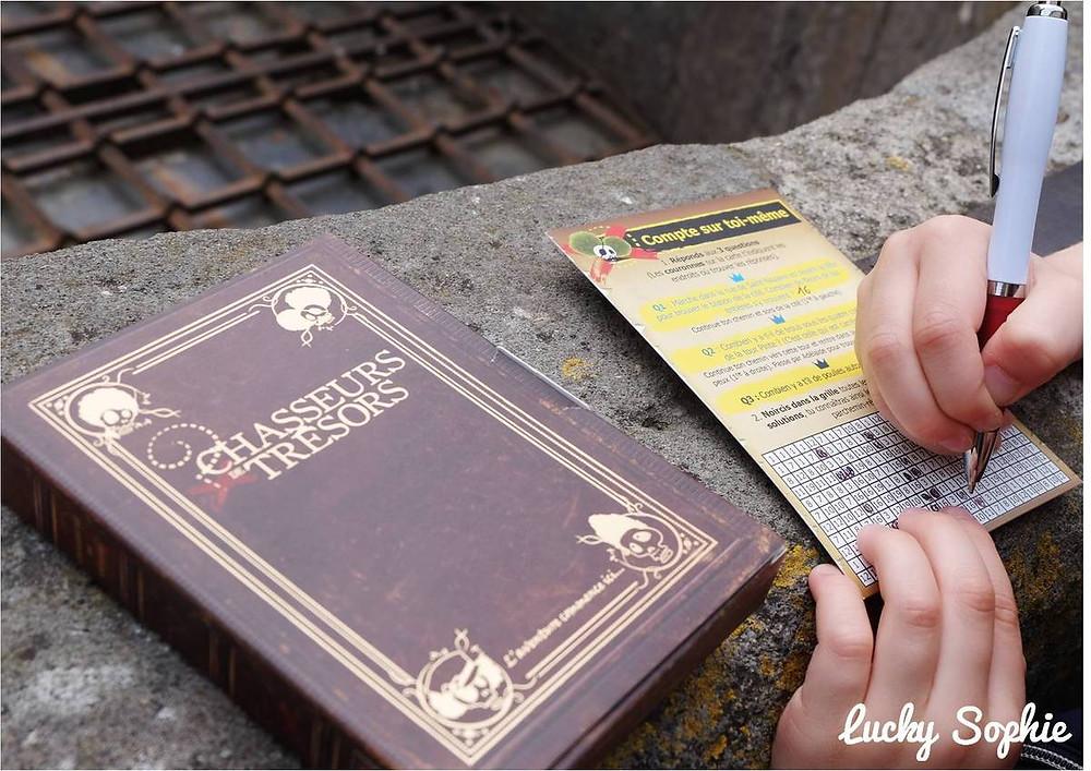 Chasse au trésor à Carcasonne - Photo by Lucky Sophie www.luckysophie.com