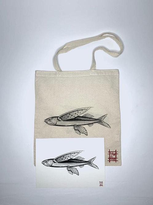 Flying fish bag