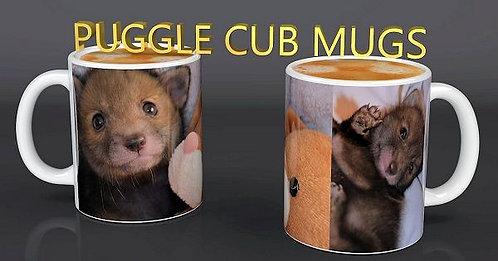 Puggle the Red Fox Cub Ceramic Mug