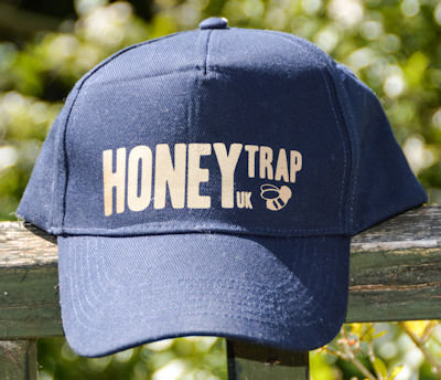 Unisex Ultimate 5-panel cap Gold Honey Trap Logo