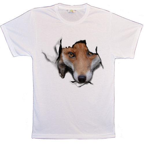 Red Fox Poke Through T-Shirts