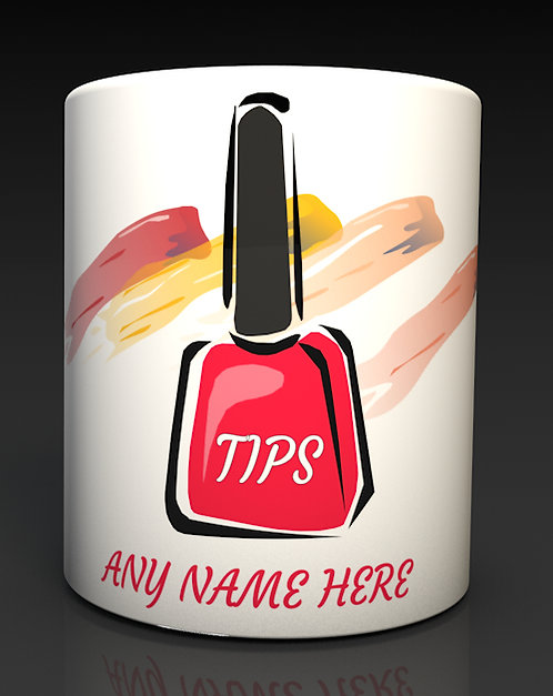 Personalised Ceramic Tip Boxes Ideal for the salon with your logo