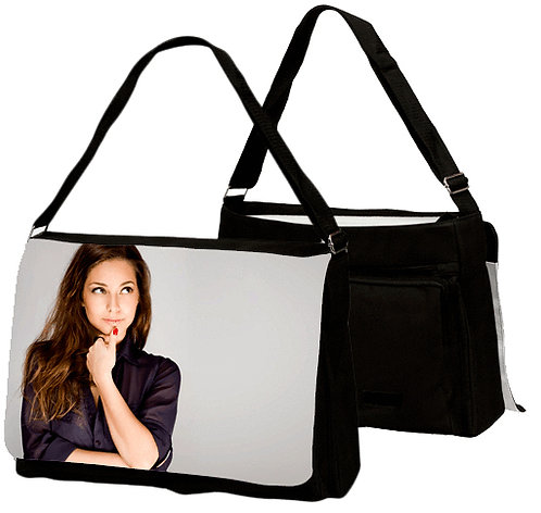 Large Personalised Shoulder Bag