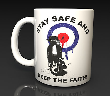 Northern Soul, MOD, Scooter, Dishwasher Safe Ceramic Mugs