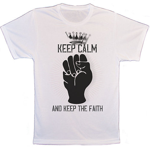 Keep calm and keep the faith Northern Soul T-Shirt