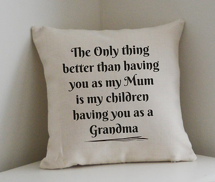 Personalised Mothers Day Cushion
