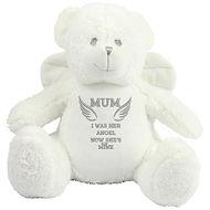 Personalised Angel Bear with Wings