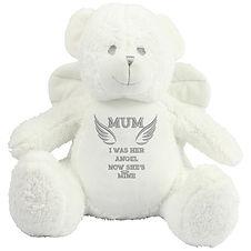 Personalised Angel Bear with Wings | Keepsake Bear | Personalised Teddy Bears |