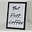 Thumbnail: A4 Framed But First Coffee
