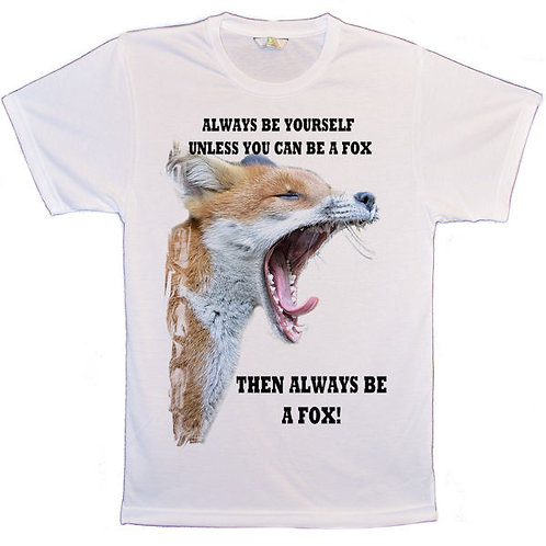 Then Always Be A Fox T-Shirts