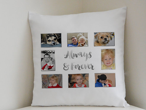 Personalised Cushion Covers plus Pillow Valentine's Day, Mother's Day gift idea