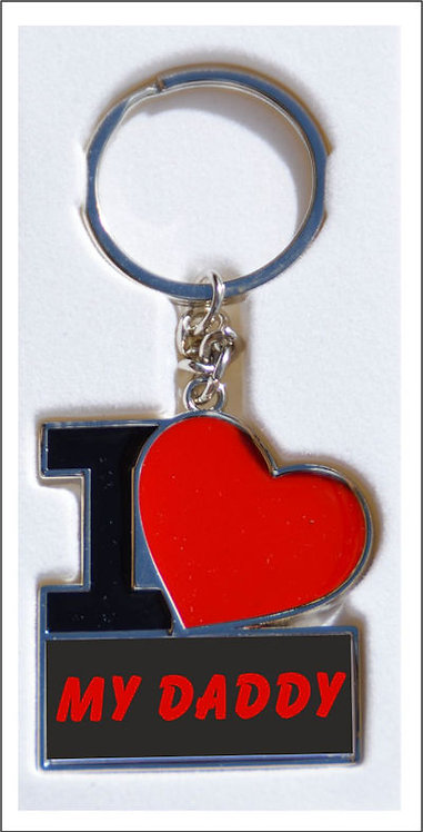 'I Love Keyrings' Fathers Day Gift Ideas