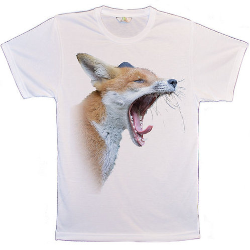 Red Fox Yawn T-Shirts