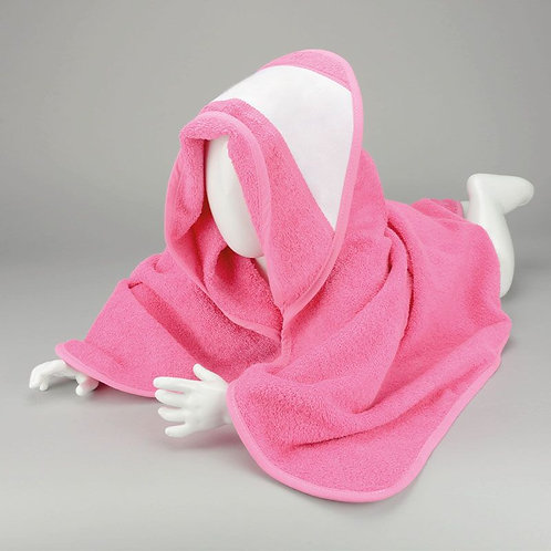 Babies Personalised Hooded Towel