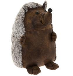 Hedgehog Door Stop | Faux Leather Doorstop | Great Gift Idea |