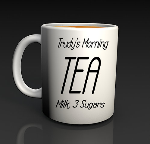 Personalised Morning Cuppa Mugs
