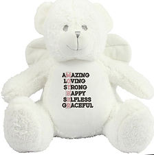 Mothers Day Gift Ideas | Angel Bear With Wings | Personalised Gifts For Mum |