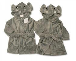 DRESSING ROBE ELEPHANT | Kids Dressing Gown Personalised | Embroidered Personalised Dressing Gowns |
