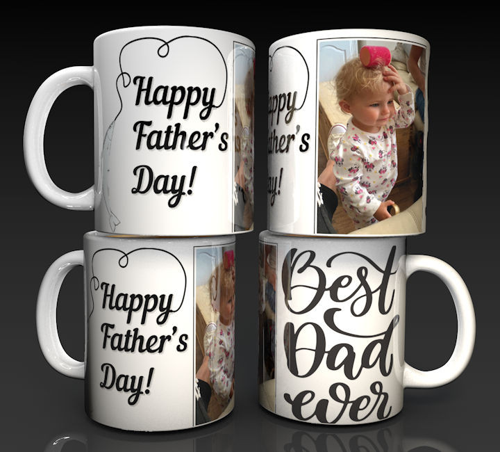 Happy Father's Day Personalised Mug
