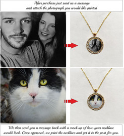 PERSONALISED Round Necklace