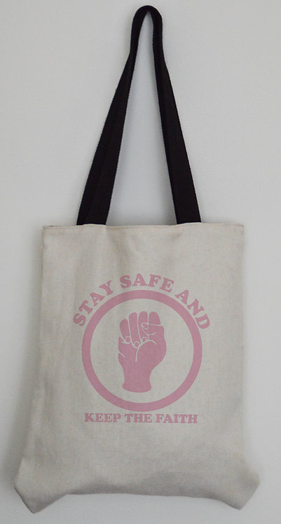 Northern Soul Canvas Effect Tote bag with black handles 4 Designs to choose from