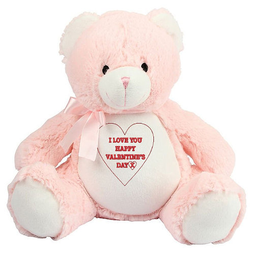 Personalised Valentine's Day Bear Choice of Bear Gift idea for the one you love