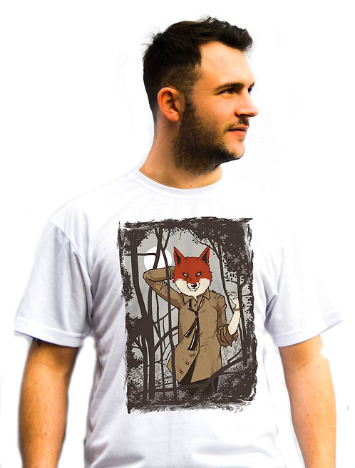 Unisex Foxy In The Woods T-Shirt