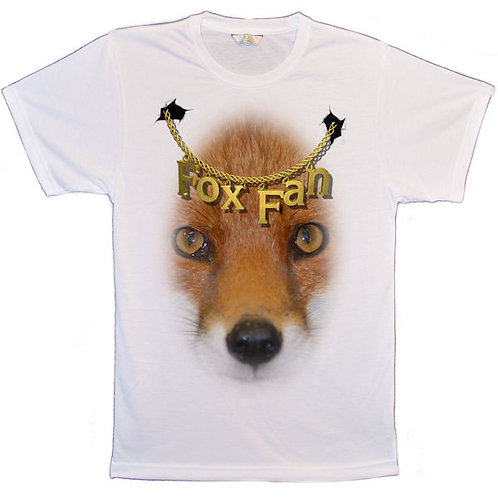 Fox Fan Face Bling T-Shirts