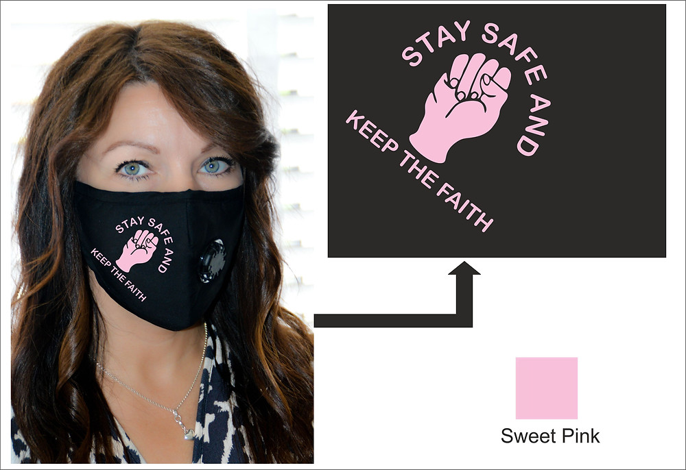 Northern Soul Face Mask Stay Safe and Keep The Faith