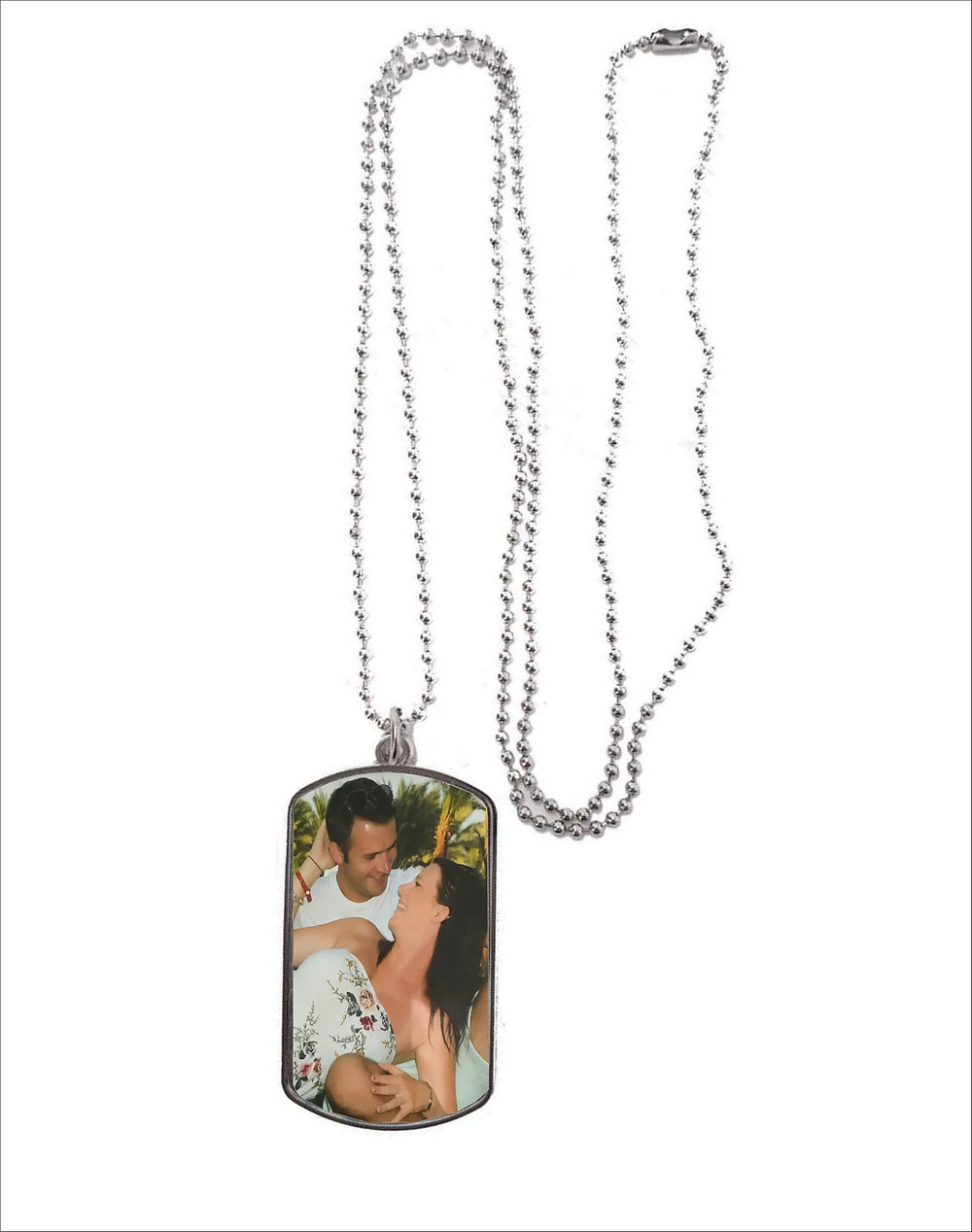 Personalised Necklace 2 designs to choose from, Dog Tag, & Heart Your Photograph