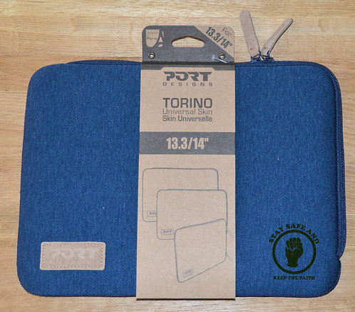 Northern Soul Torino Shockproof Universal Skin Sleeve/Case for 13.3./14inch Blue