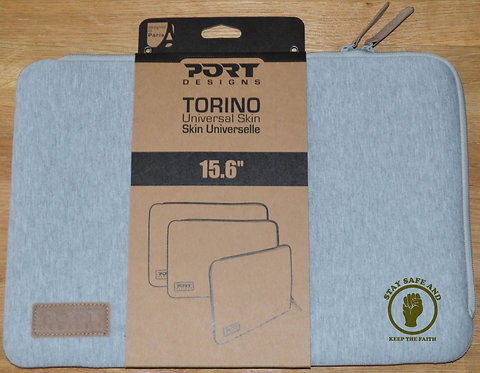 "Northern Soul Torino Shockproof Universal Skin Sleeve for 14""/15.6"" Laptops Grey"
