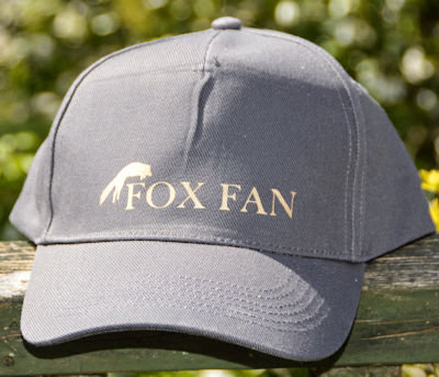 Unisex Ultimate 5-panel cap Gold Vinyl Fox Fan with Pouncing Fox