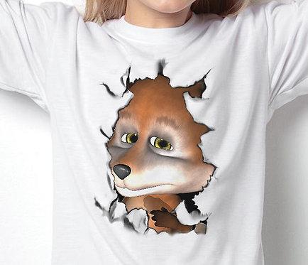 Children's T-Shirts Foxi Breakout Fox T-Shirt