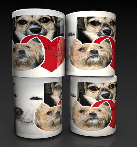 Personalised Vet Fees Fund Photo Ceramic Piggy Bank Money Box