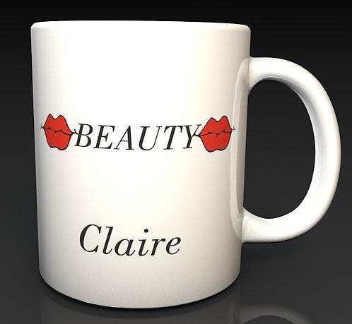 Personalised Beauty Therapist Mugs