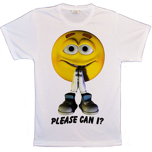 Smiley Please Can I T-Shirts