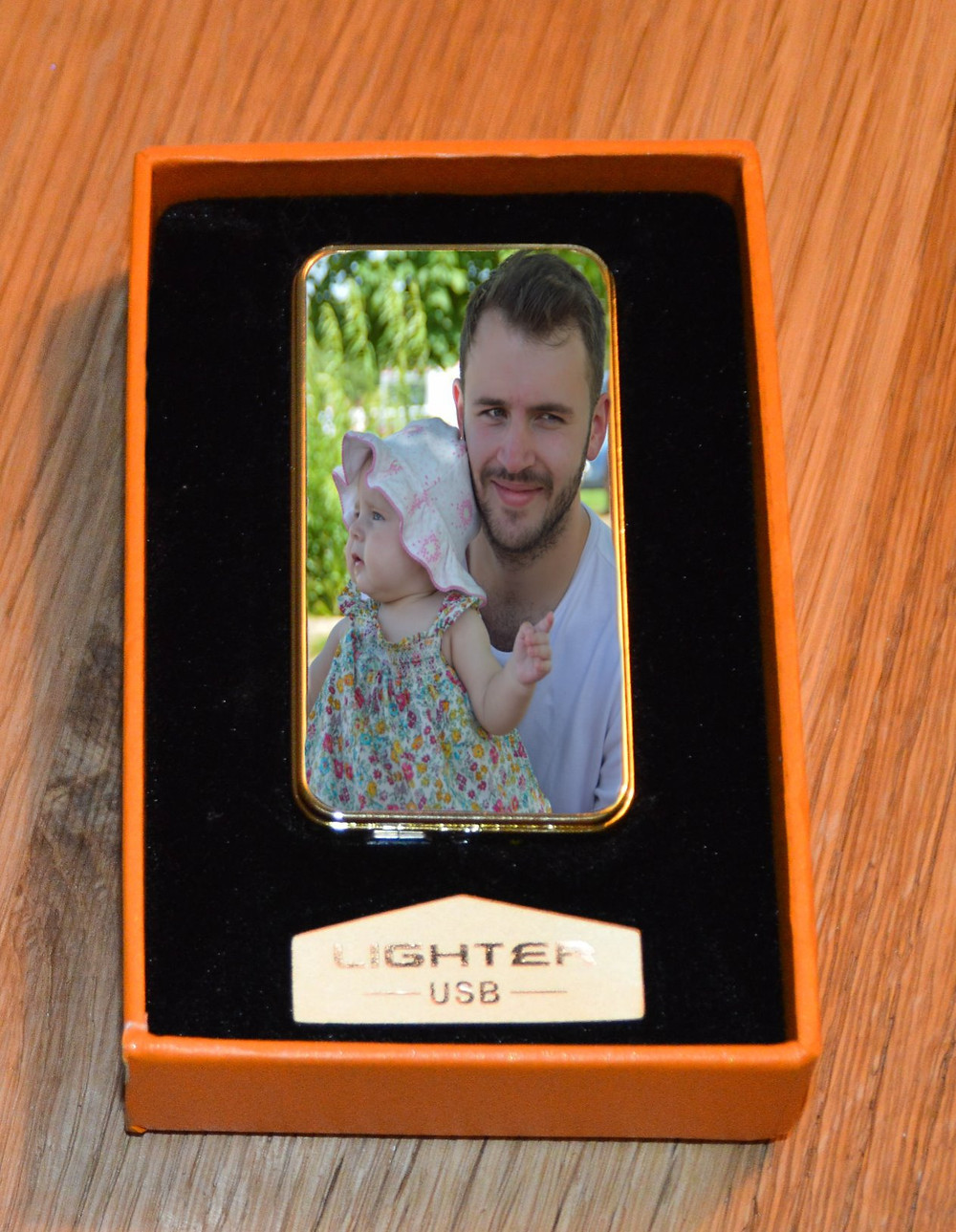 Personalised Cigarette Lighter USB No Flame
